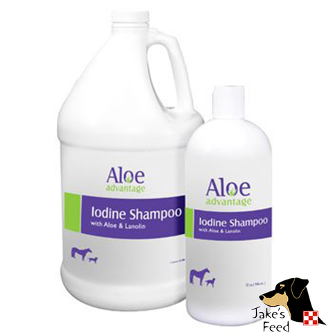 ALOE ADVANTAGE IODINE WITH ALOE SHAMPOO