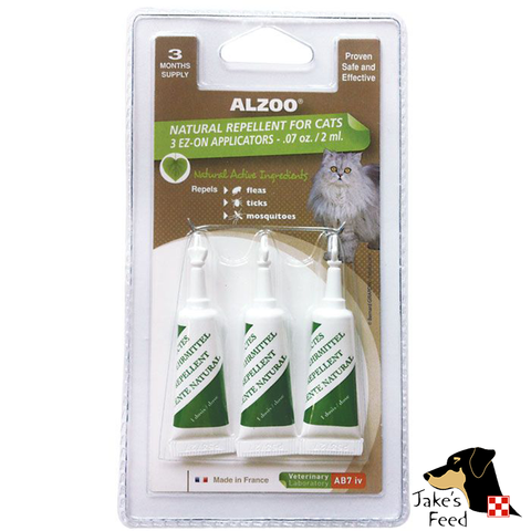 ALZOO SPOT-ON CAT  3 MONTH SUPPLY
