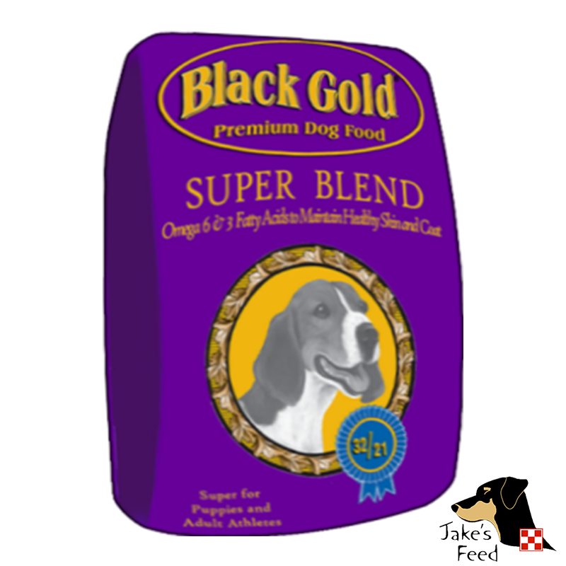 BLACK GOLD SUPERBLEND PUPPY 40#