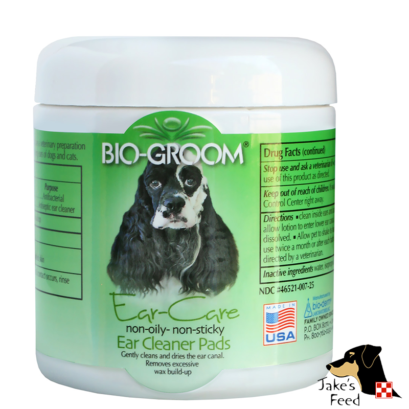 BIO-GROOM EAR CLEANER PADS #25