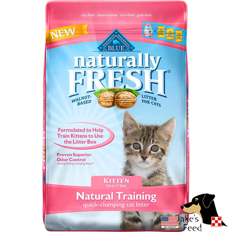 BLUE NATURALLY FRESH QUICK-CLUMPING KITTEN TRAINING CAT LITTER 14#