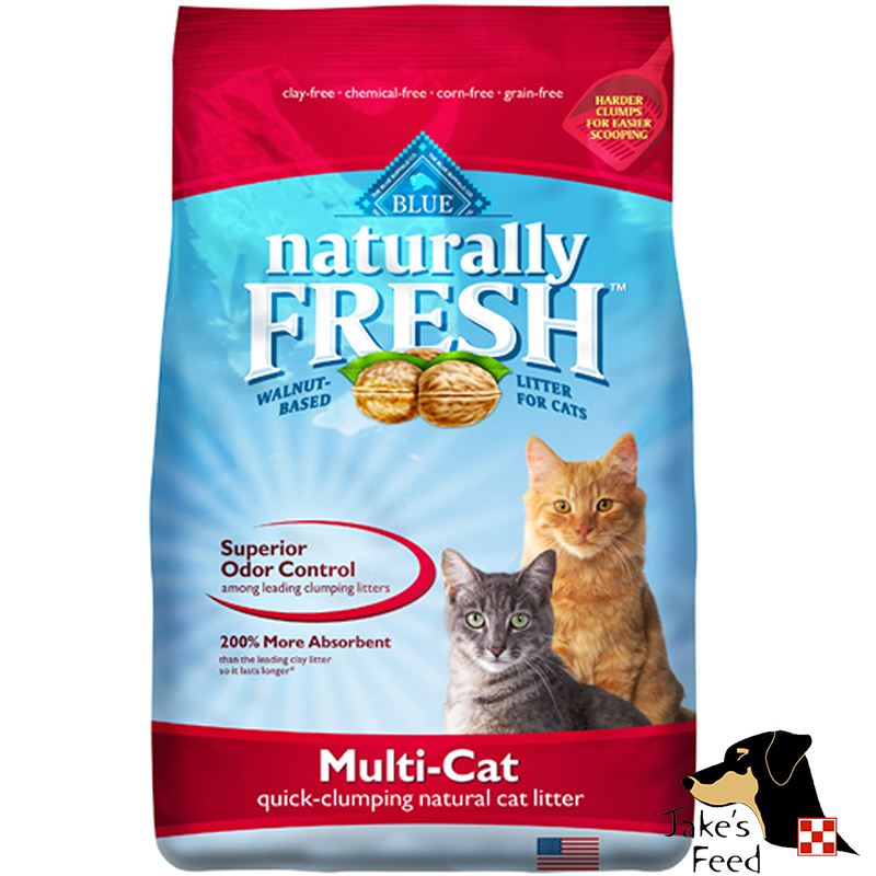 BLUE NATURALLY FRESH QUICK-CLUMPING MULTI-CAT LITTER 14#