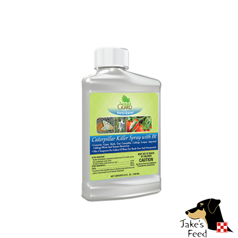 NATURAL GUARD CATERPILLAR KILLER WITH BT 8 OZ. CONCENTRATE
