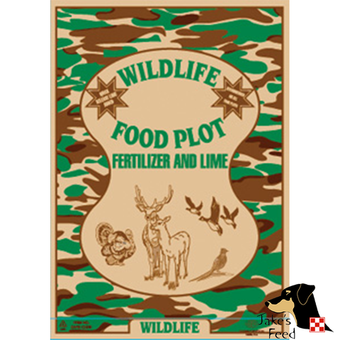 FOOD PLOT FERTILIZER 15-5-5 40#