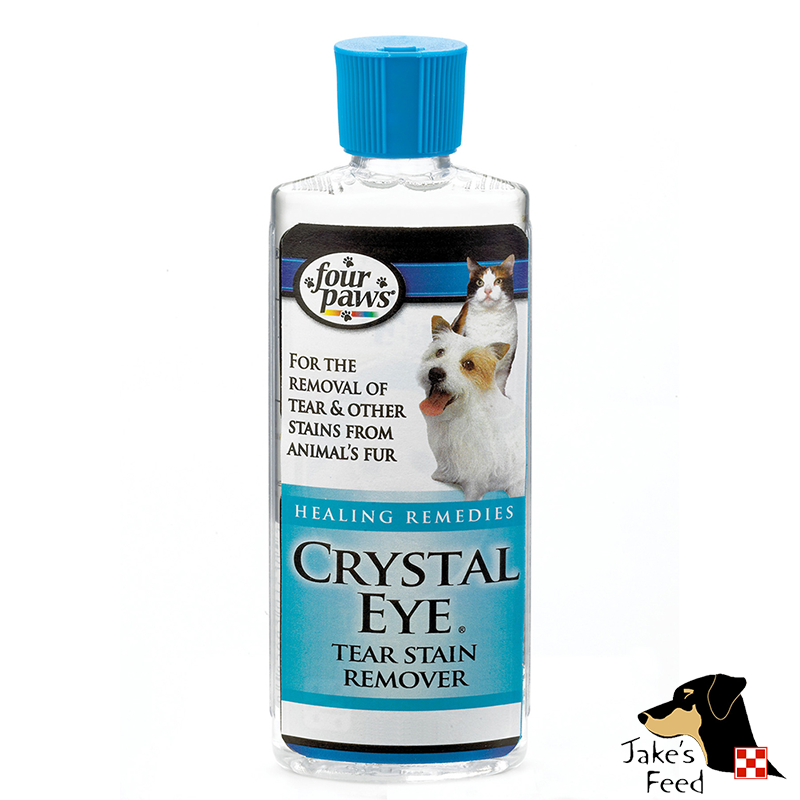 CRYSTAL EYE TEAR STAIN REMOVER 4 OZ.