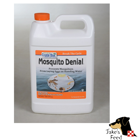 CRYSTAL BLUE MOSQUITO DENIAL GALLON