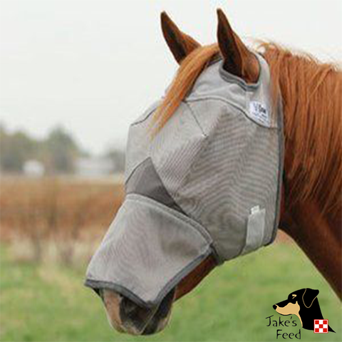 CASHEL FLY MASK: ARAB/LONG NOSE