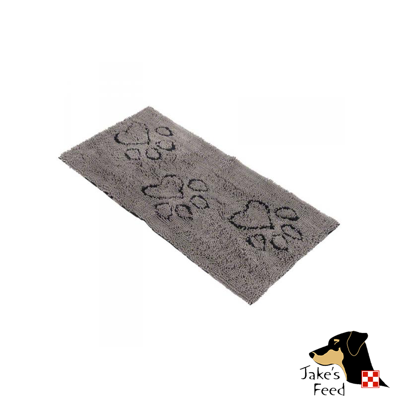 DOG GONE SMART DIRTY DOG RUNNER 60 X 30 GREY
