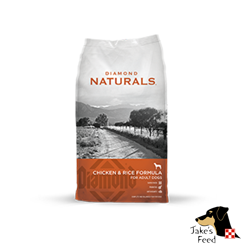 DIAMOND NATURALS Chicken and Rice Dog Food 40#
