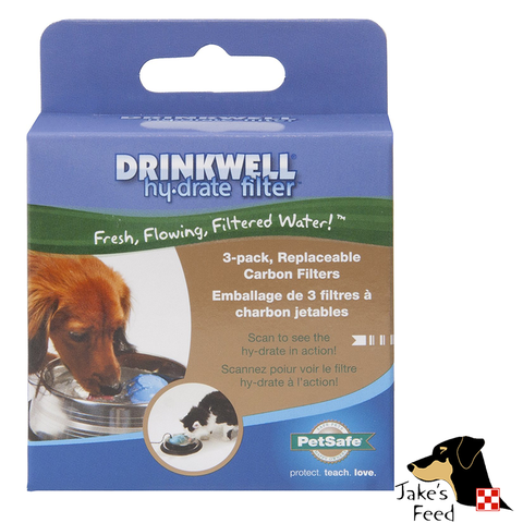 DRINKWELL HYDRATE REPLACEMENT FILTERS 3 PACK