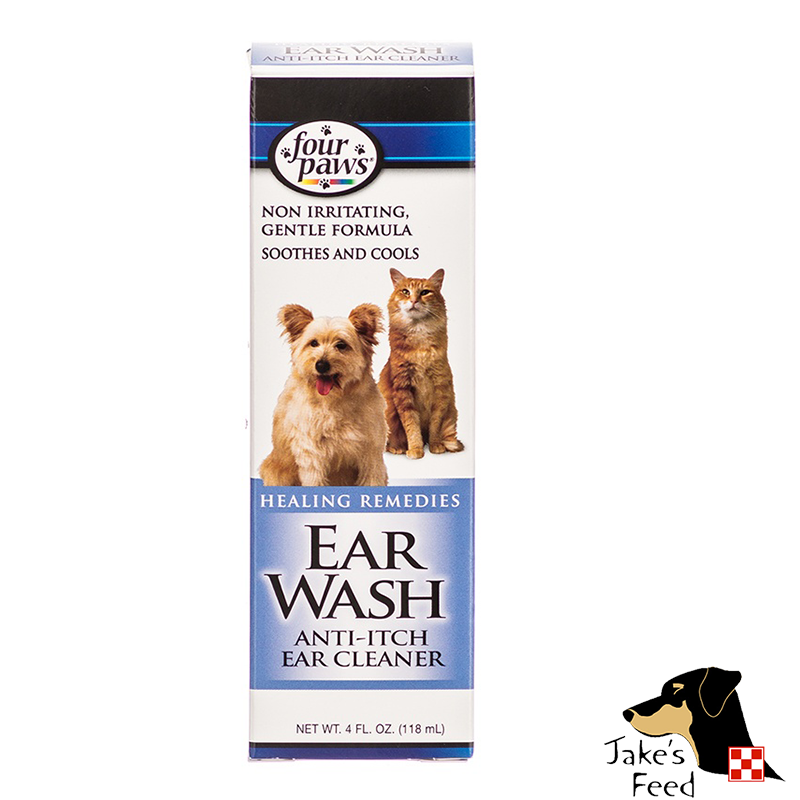 EAR WASH FOR DOGS 4 OZ.