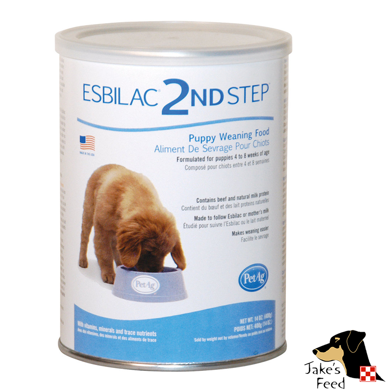 ESBILAC PUPPY MILK REPLACEMENT POWDER 2ND STEP 14 OZ