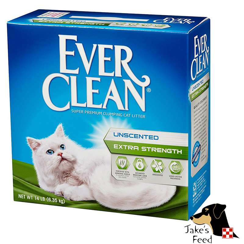 EVERCLEAN EXTRA STRENGTH UNSCENTED CAT LITTER 14#