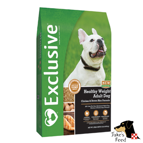 Exclusive Reduced Fat Adult Dog Food