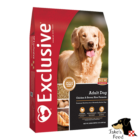 Exclusive Chicken & Rice Adult Dog Food