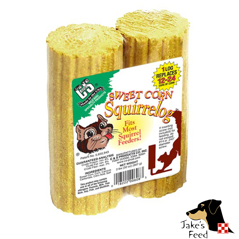 SWEET CORN SQUIRRELOG