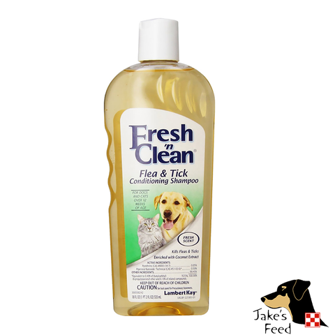 FRESH 'N CLEAN FLEA & TICK SHAMPOO 18 OZ.