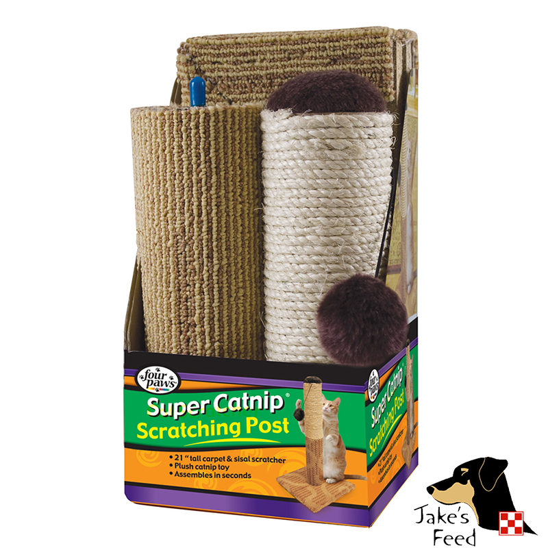 FOUR PAWS SUPER CATNIP SCRATCHING POST
