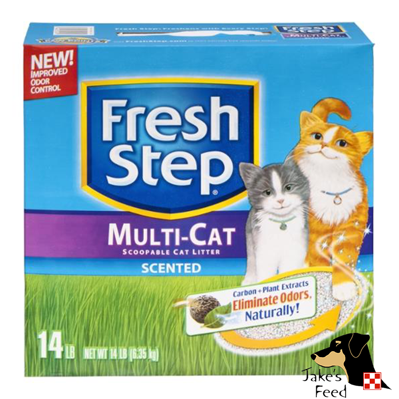 FRESH STEP MULTI-CAT SCOOPABLE SCENTED CAT LITTER 14#