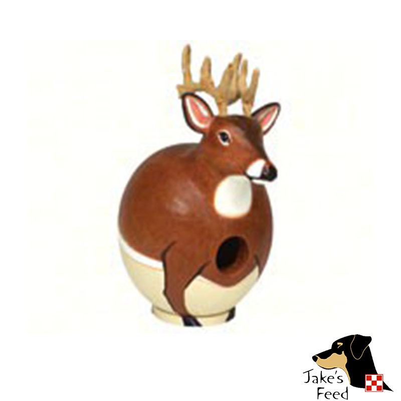 WHITE TAIL DEER BIRDHOUSE