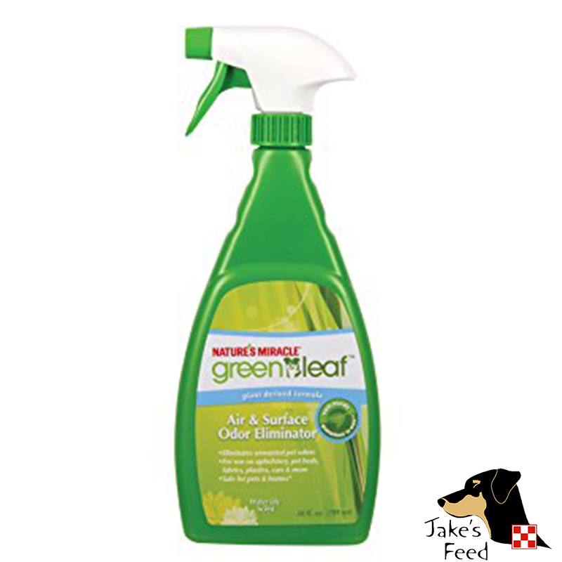 GREEN LEAF AIR & SURFACE ODOR ELIMINATOR SPRAY 24 OZ.