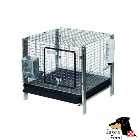 PET LODGE RABBIT HUTCH KIT