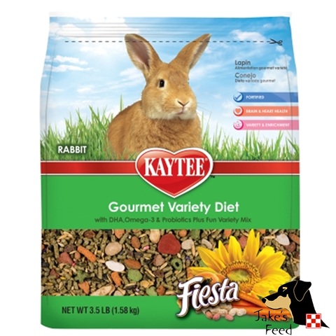 KAYTEE FIESTA GOURMET RABBIT FOOD 3.5#
