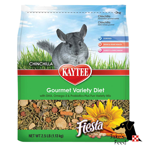 KAYTEE FIESTA GOURMET CHINCHILLA GOOD 2.5#