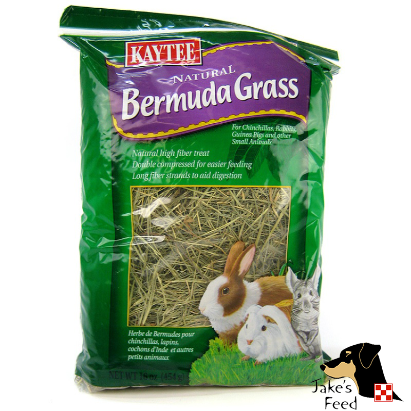 KAYTEE NATURAL BERMUDA GRASS 16 OZ.