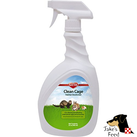 KAYTEE CLEAN CAGE HABITAT DEODORIZER SPRAY 32 OZ.