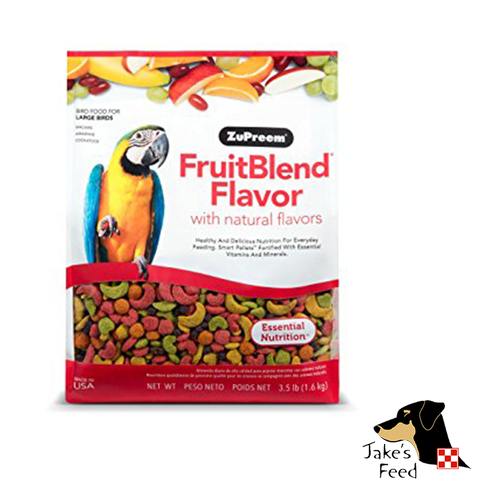 ZUPREEM LARGE PARROT FRUIT BLEND BIRD FEED