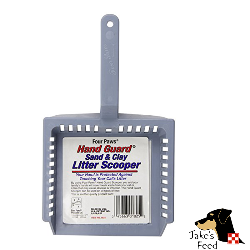 HAND GUARD LITTER SCOOP