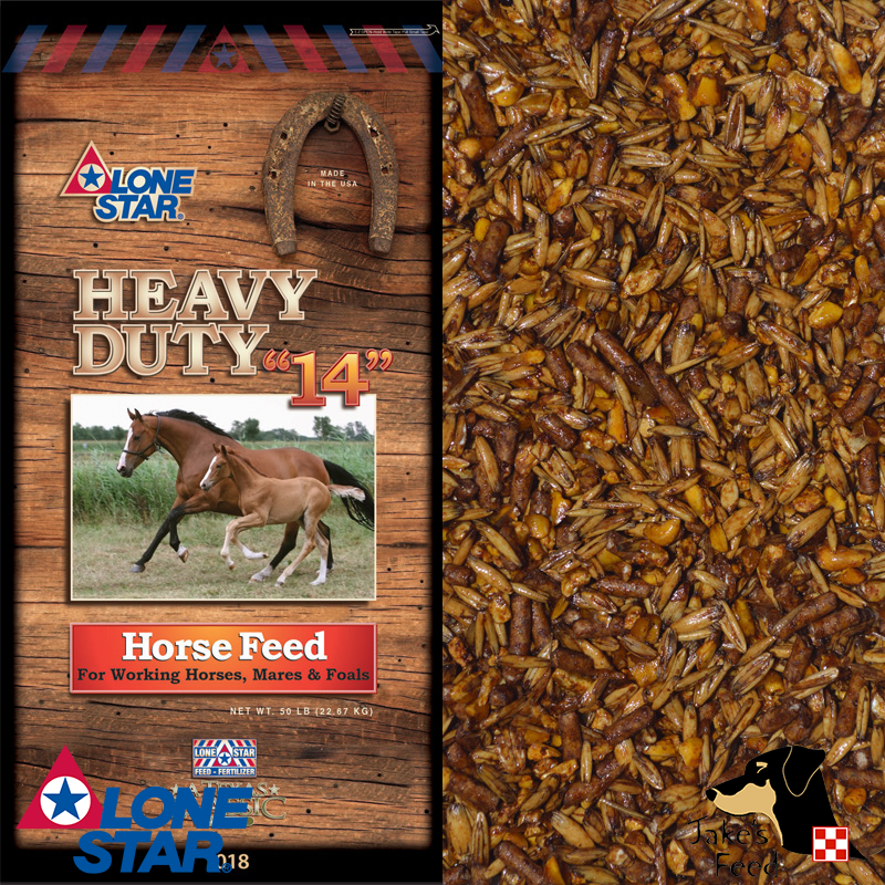 "Lone Star Heavy Duty ""14"" Horse Feed"