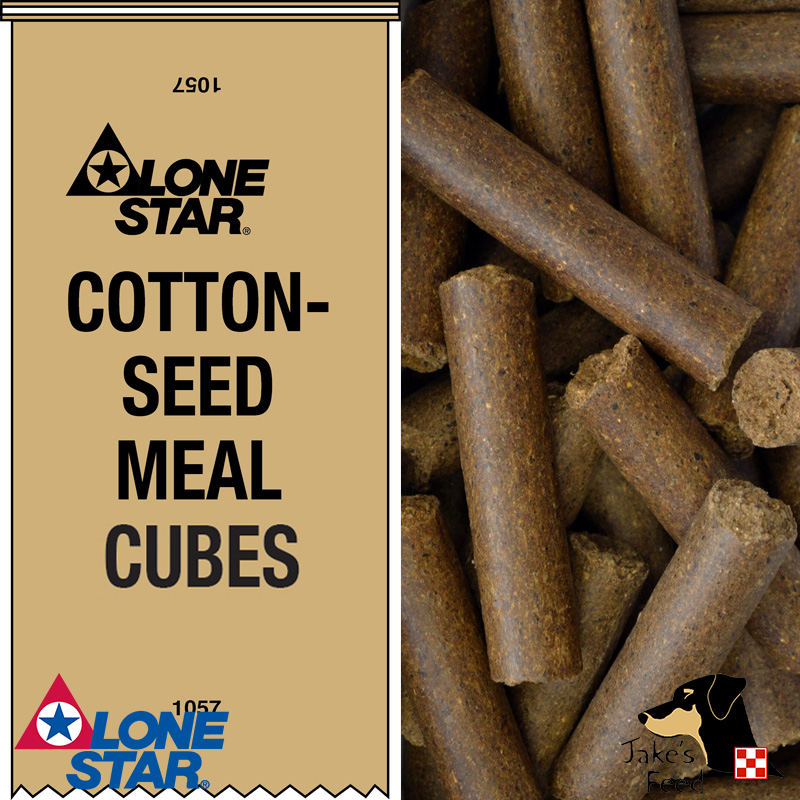 Lone Star Cottonseed Meal Cattle Cubes