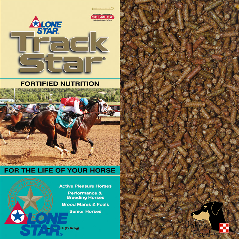 Lone Star Track Star Senior Horse Feed