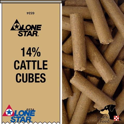 Lone Star 14% Cattle Cubes