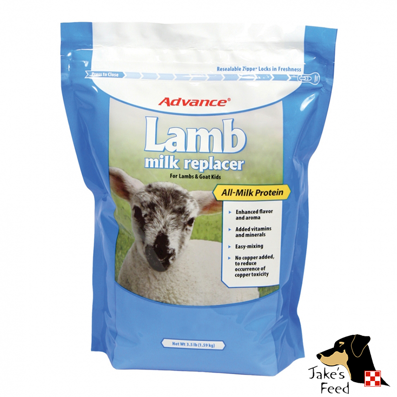 MANNA PRO ADVANCED LAMB MILK 3.5#