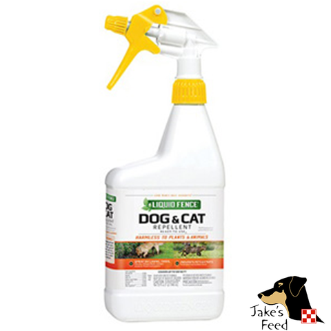 LIQUID FENCE DOG CAT REPELLANT RTU 32oz