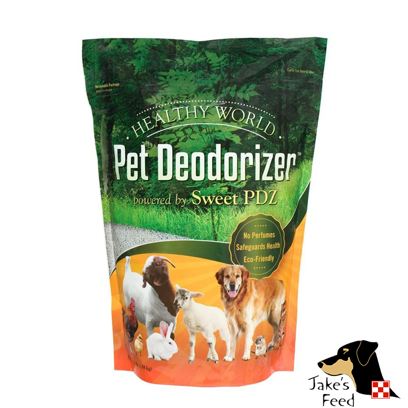 MANNA PRO HEALTHY WORLD PET DEODORIZER 3.5 LBS.