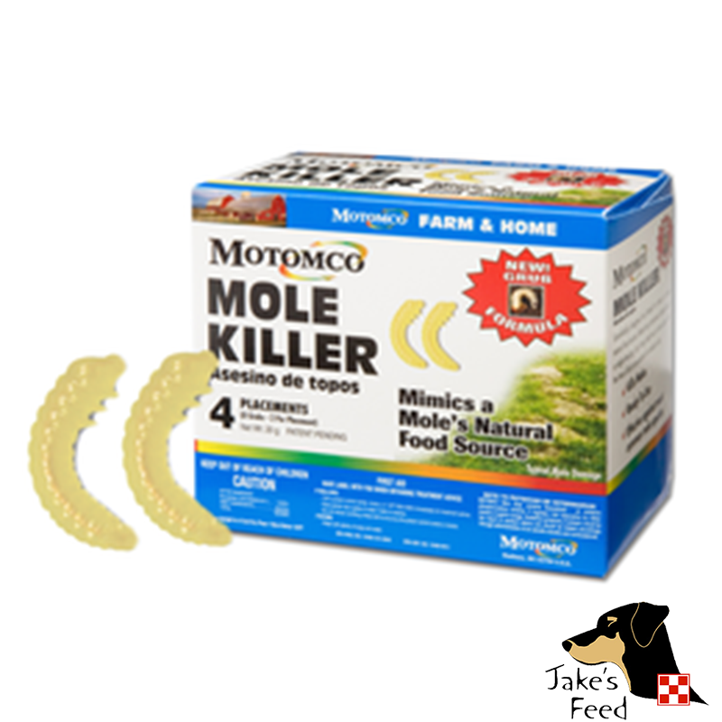 MOTOMCO MOLE KILLER GRUBS 4 PACK