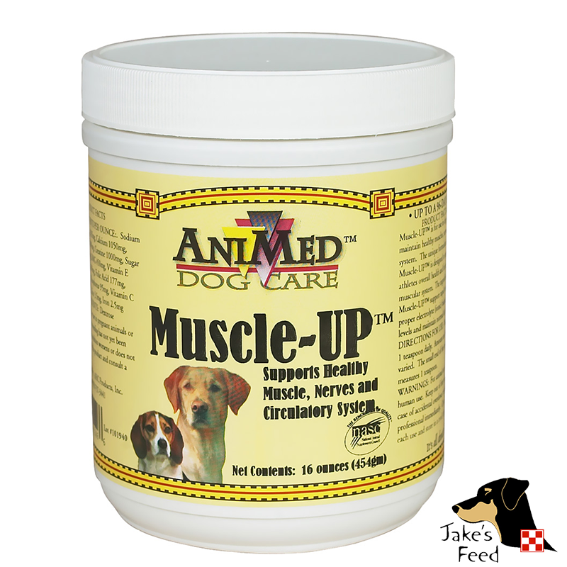 ANIMED MUSCLE UP POWDER 16 OZ.