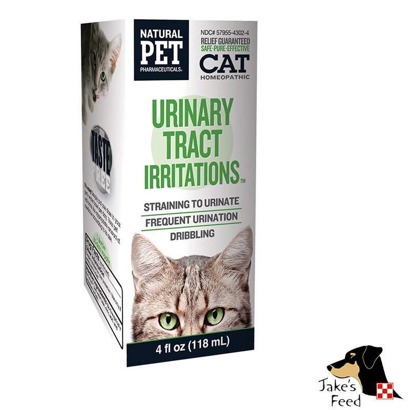 NATURAL PET CAT URINARY TRACT IRRITATIONS 4 OZ.