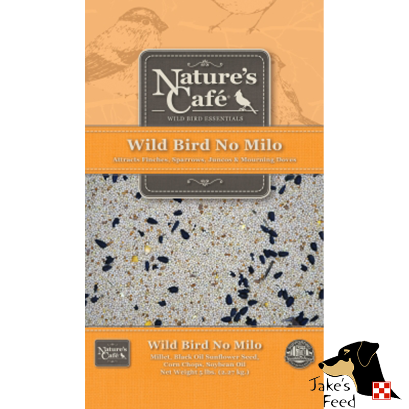 NATURE'S CAFE WILD BIRD BLEND NO MILO