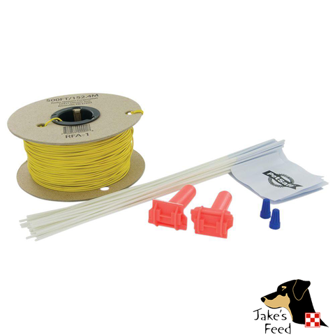 PETSAFE EXTRA IN-GROUND FENCE BOUNDRY WIRE AND TRAINING FLAGS