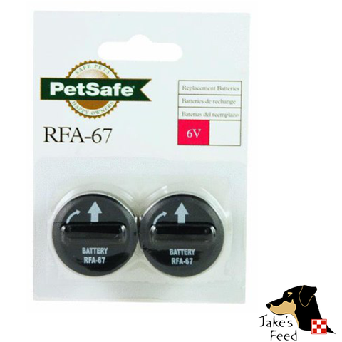 PETSAFE 6V REPLACEMENT BATTERIES 2 PACK