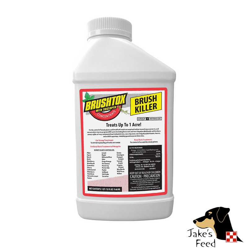 BRUSHTOX WITH TRICLOPYR 61% 32 OZ.