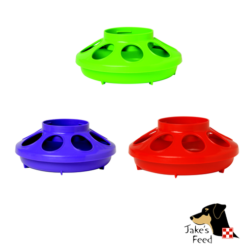 PLASTIC CHICK FEEDER BASE