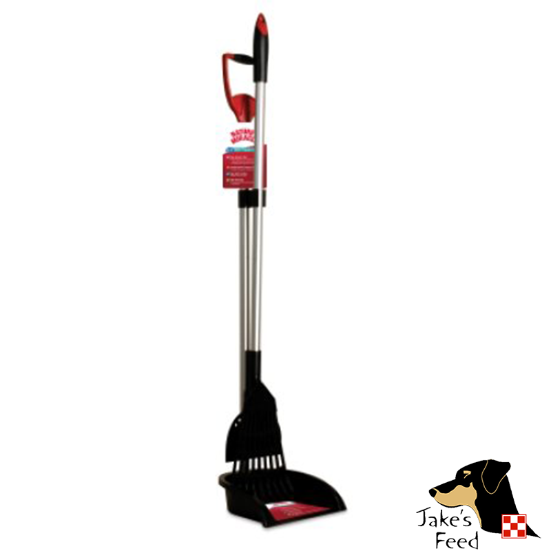 2-IN-1 RAKE/SPADE SET WITH PAN POOPER SCOOPER