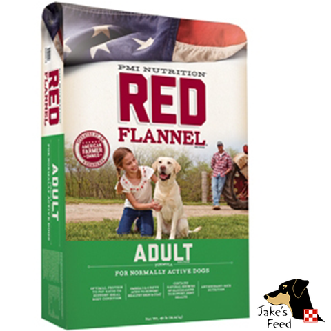Red Flannel Adult Dog Food