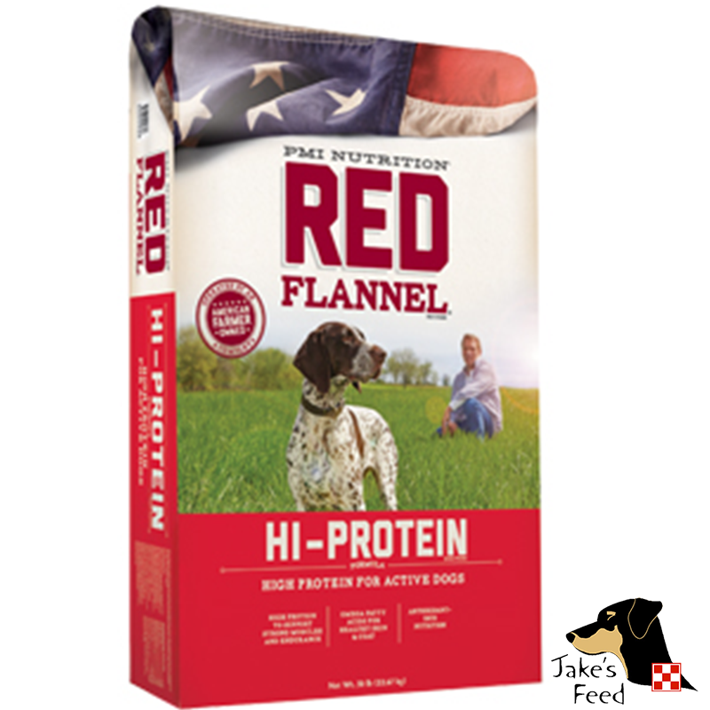 Red Flannel Hi Protein Dog Food